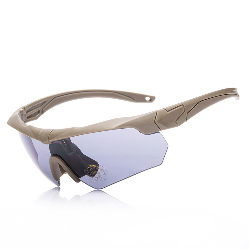 Tactical Glasses Windproof Sand Lens Explosion-Proof Processing Army Fans Explosion-Proof Glasses Outdoor Sports Challenges Prof