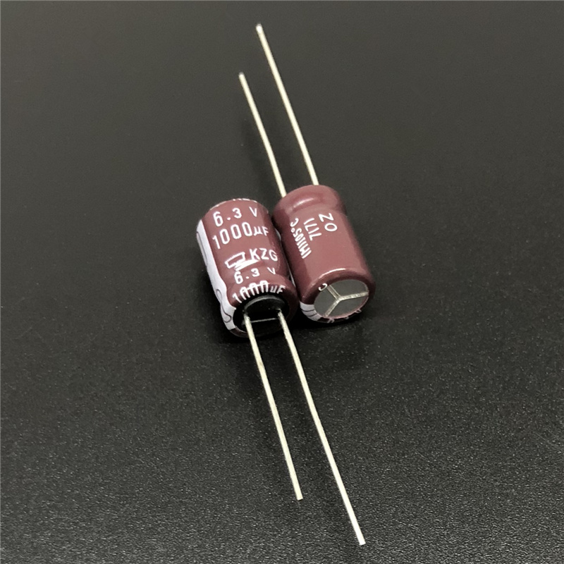 10pcs 1000uF 6.3V NCC KZG 8x12mm 6.3V1000uF Super Low ESR PC Motherboard Capacitor