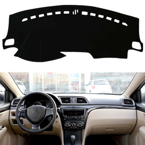 For Suzuki Ciaz 2014-2018 Dashboard Cover Mat Pad Dashmat Dash Cover Sun Shade Instrument Protect Carpet Car Styling Accessories(China)