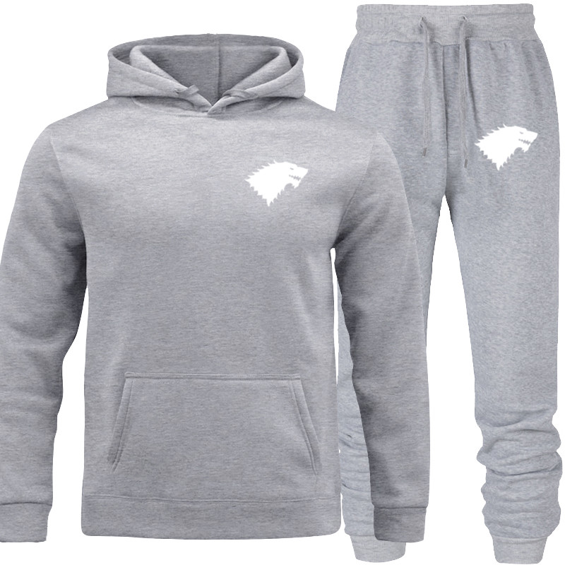 Long Basic Underwear Pullover Suit Autumn Tracksuit Men Two Piece Sets Casual Track Suit Sportswear Sweatsuits Sporting Clothing