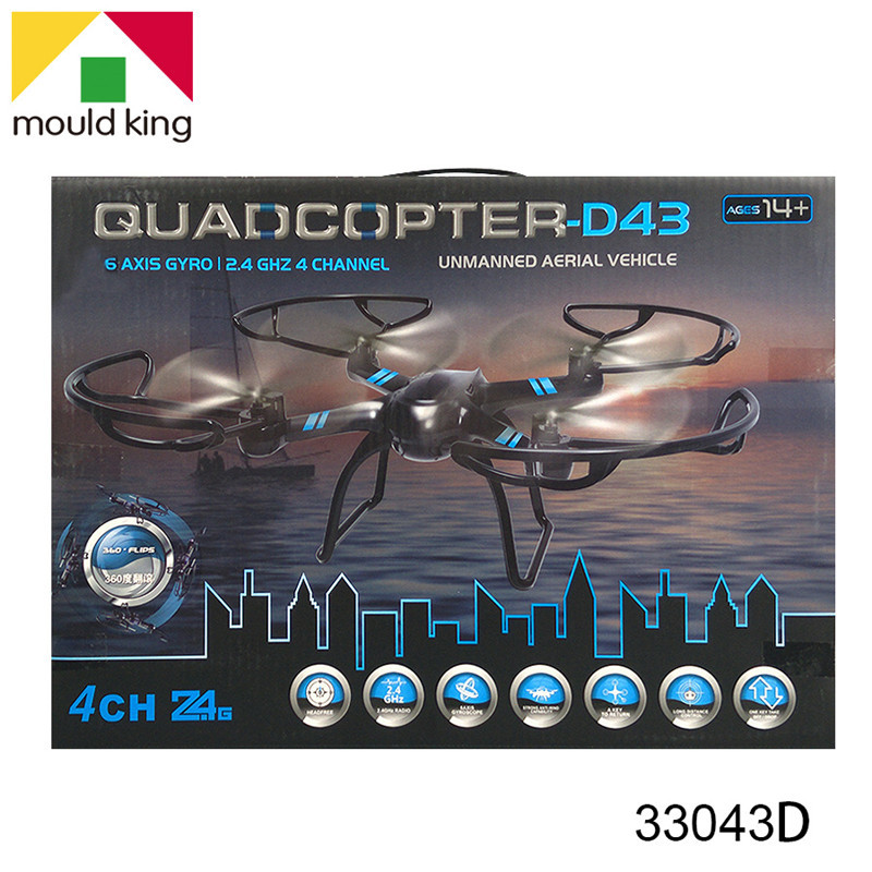 New Products Quadcopter 2.4G Children Electric Remote Control Aircraft Toy Headless Mode Aviation Model