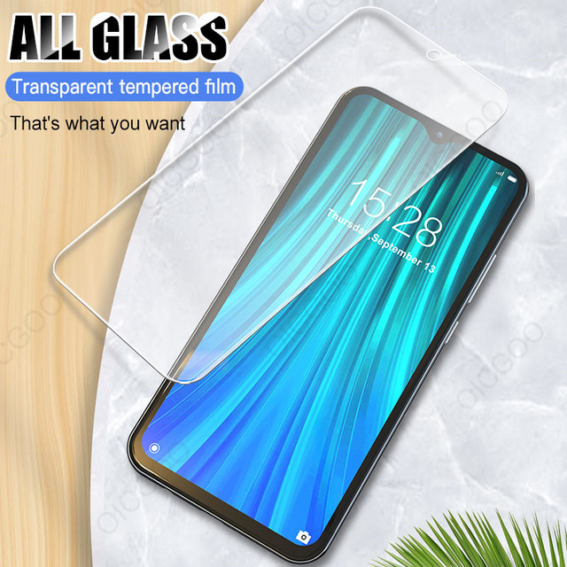 3Pcs Full Cover Tempered Glass For Xiaomi Redmi Note 9 8 7 5 6 9S Pro Max Screen Protector For Redmi 8A 8 7 7A 9 9A 8T Glass 2