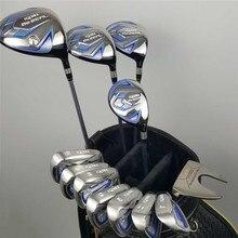 Nova feminino honma golf club honma bezeal 525 conjunto completo de golfe com madeira putter head cover (sem saco) frete grátis
