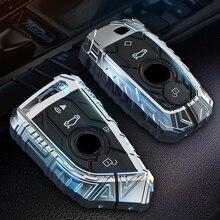For BMW 520 525 f30 f10 F18 118i 320i 1 3 5 7 Series X3 X4 M3 M4 M5 E34 E36 E90 NEW FOB Keychain Car Styling Key Case Cover Fob