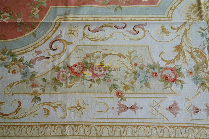 Ev dekorasyonu yün örme halılar en Aubusson Savonnerie, el yapımı fransız bahçe, güzel işlemeli kilim