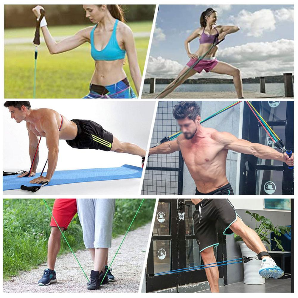 Pull Rope Elastic Resistance Bands 3
