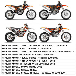 Image 5 - 125 EXC/SX 2005 2006 2007 2008 ماجورا اكسسوارات الدراجات النارية طويل نك محور الفرامل العتلات استبدال الترابية المحركات ل KTM
