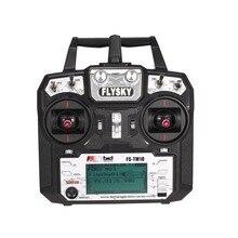 Hot ! Flysky FS-TM10 FS-i6X 10CH 2.4GHz AFHDS RC Transmitter Radio Model Remote Controller System with FS-IA10B Receiver RC Part