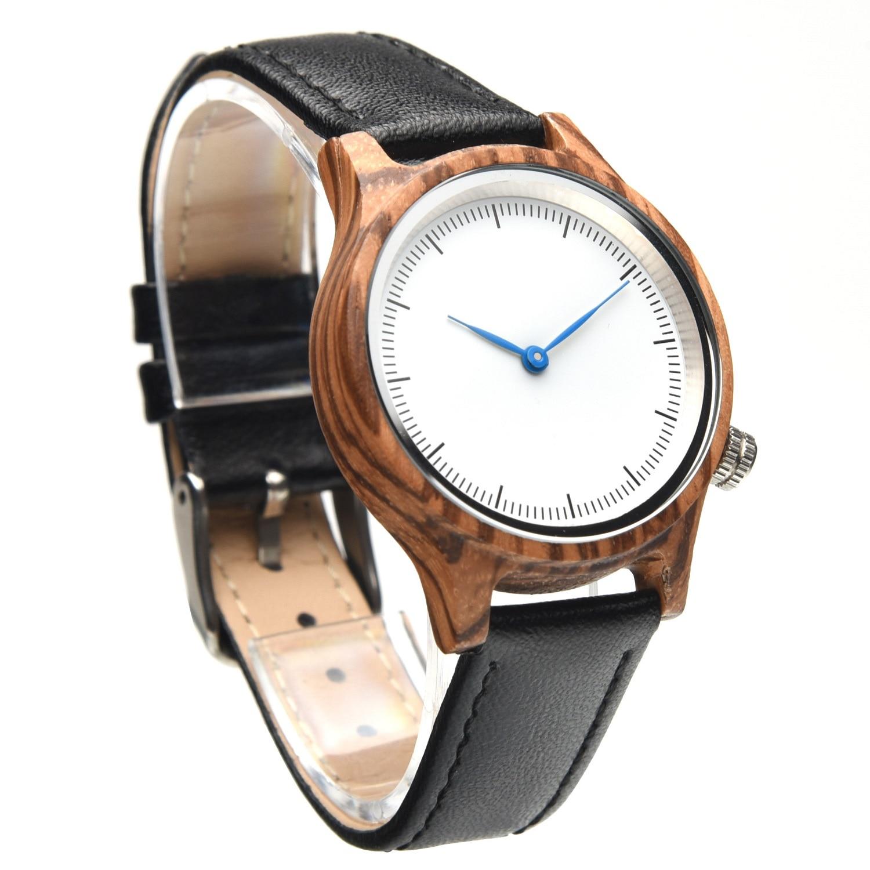 masculinos de madeira casal relógios de pulso