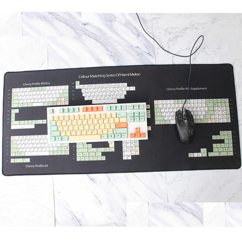 ハミメロン桜プロファイルキーキャップメカニカルキーボード用キー色素サブ日本ルート黒フォント thick pbt キーキャップ gh60 マイアミ xd84 日本語フォント日本語の語根 139キー