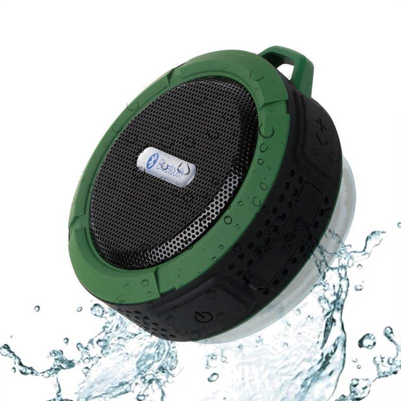 Portable Speaker Bluetooth Outdoor Wireless Music Subwoofer Sports Stereo Sound Mini Bass