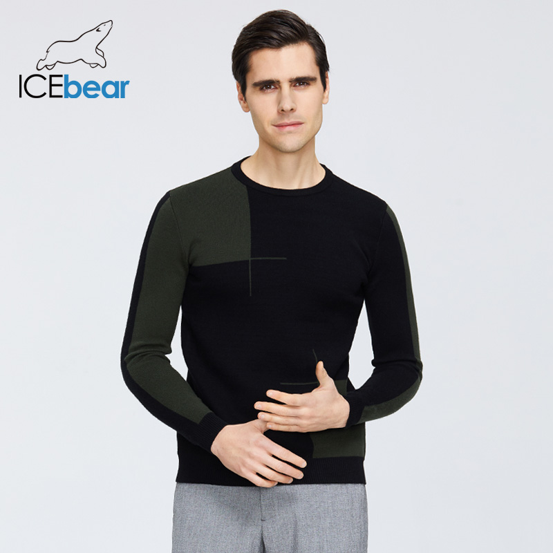 ICEbear 2020 High Quality Men's Sweater Stylish Men's Pullover Brand Male Clothing  1717