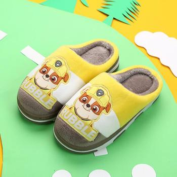 2019 New Genuine paw patrol children's shoes Autumn winter puppy patrol baby slippers dog skye marshall rubble kids children toy 1