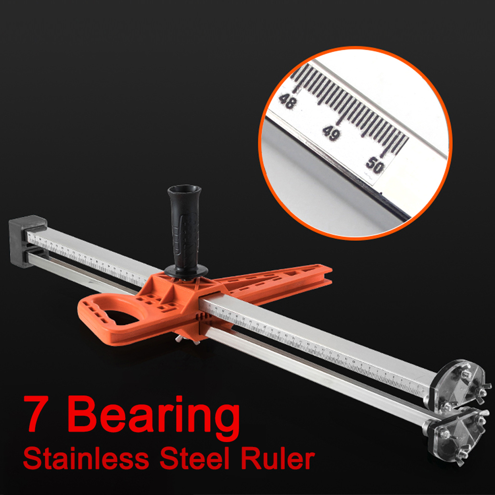 Handle Ruler Hand Push Adjustable Durable Steel Gypsum Manual Cutter With Stainless Cutting Drywall Fixing Tool Double Board