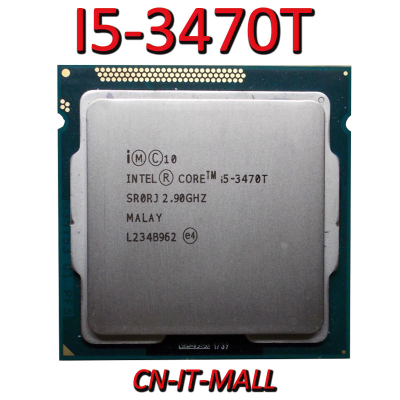 Pulled I5-3470T 2.9G 3M 2 Core 4 Thread LGA1155 Processor