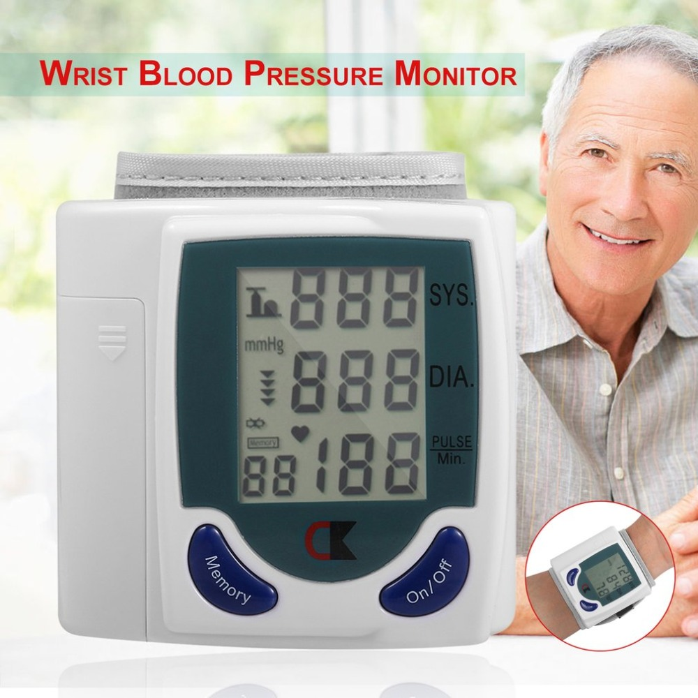 First Kid Kit Health Care Automatic Digital Wrist Blood Pressure Monitor For Measuring Heart Beat And Pulse Rate DIA