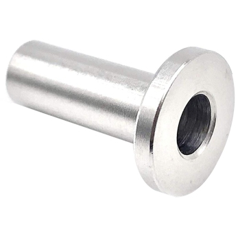 New Stainless Steel Protector Sleeves For 1/8 Inch Cable Railing, Wood Posts, Diy Balustrade T316 Marine Grade 100Pcs