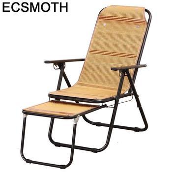 Divani-sofá Moderno Plegable de bambú, sillón Reclinable Para Sala de estar