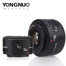YONGNUO kamera Lens YN EF 50mm f/1.8 AF Lens 1:1.8 standart Prime Lens diyafram otomatik odaklama Canon EOS DSLR kameralar