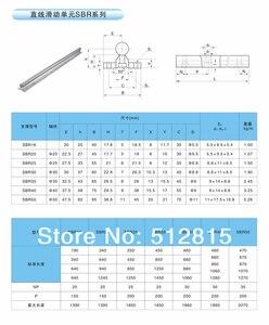 Image 2 - Ru Schip 3 Sets Lineaire Rails SBR16 L 300/700/1100 Mm & Ballscrew Sfu/RM1605 350/750/1150 Mm & Moer & Bk/B12 & Koppeling Voor Cnc Router