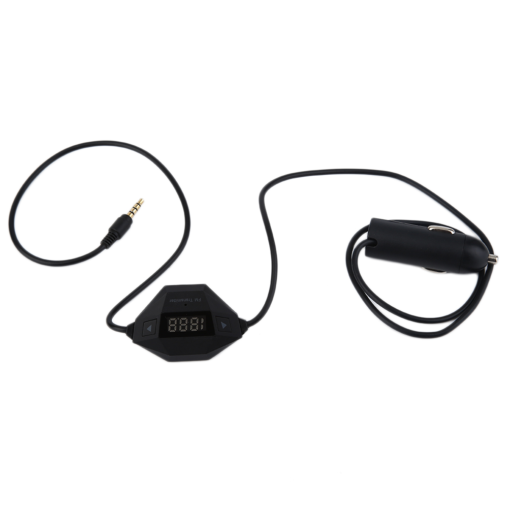 Auto Car FM Radio Transmitter USB Phone Car Charger Music Player Handsfree For Smartphones MP3 MP4