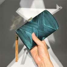 Women Handbags Luxury Designer 2020 Fashion Tassel Clutches Evening Bags Handbags Wedding Purse Minaudiere Chain Female Bolsos