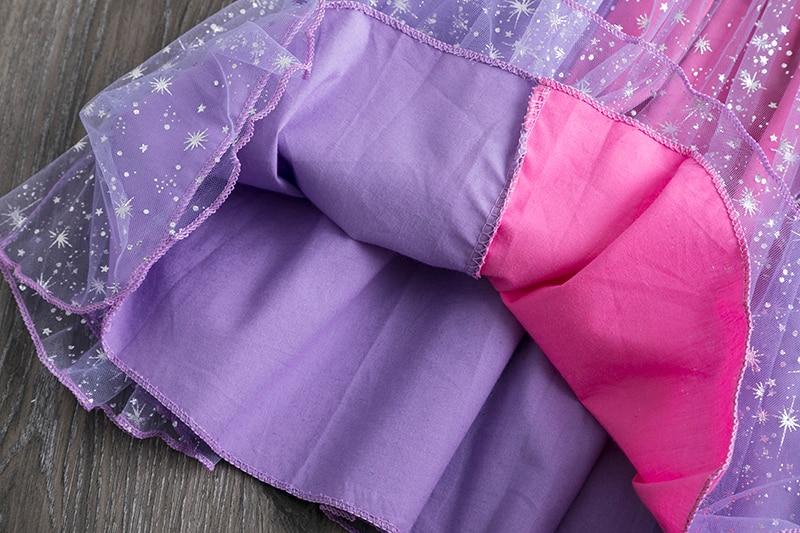 H85bfc46018d64310bbd27c81025bbebar Princess Kids Baby Fancy Wedding Dress Sequins Formal Party Dress For Girl Tutu Kids Clothes Children Backless Designs Dresses