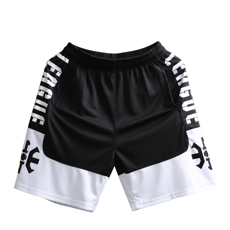 Shorts Summer Basketball-Pants Quick-Drying Fitness Men's Loose Breathable Knee-High