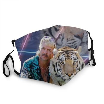 Joe Exotic Tiger King Reusable Mouth Face Mask Animal Documentary Anti Haze Anti Dust Protection Cover Respirator Mouth Muffle image