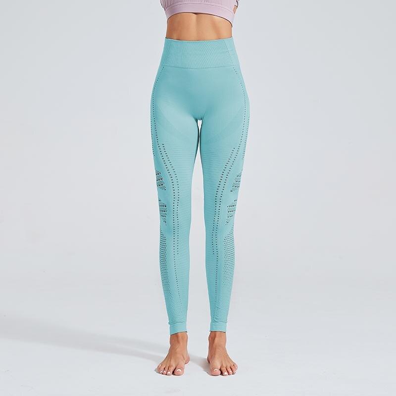 Seamless Leggings Push Up Fashion Pants High Waist Workout Jogging 27