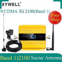 Chaud! Amplificateur de WCDMA de téléphone portable de répéteur de Signal de 3G WCDMA 2100MHz 3G 2100MHz UMTS avec l'antenne de ventouse