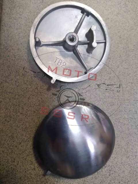 Крышка головки цилиндра Alpha (лев. круглая) D-71мм (распредвала) 139FMB, 147FMD, 152FMH/I