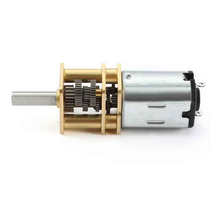 DC 6V 10RPM マイクロ高速減速ギアボックスモーターと 2 端子 rc 車ロボットモデル DIY おもちゃ