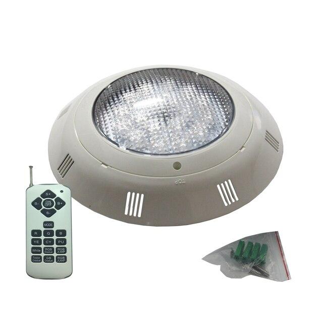 18W 36W 54W שטוח בריכת אור AC12V מתחת למים תאורה IP68 עמיד למים RGB ססגוניות חם לבן קר לבן
