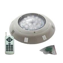 18W 36W 54W Flat Pool Light AC12V Underwater Lighting IP68 Waterproof RGB Multicolor Warm White Cold White