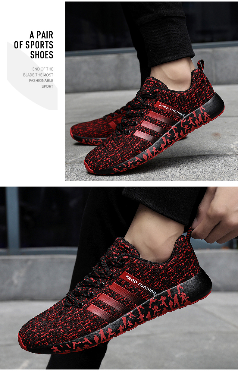 H85c113ae97634b56850102b55b1363fcQ New Autumn Fashion Men Flyweather Comfortables Breathable Non-leather Casual Lightweight Plus Size 47 Jogging Shoes men 39S