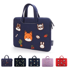 Cartoon Laptop Bag Sleeve 11.6 12 13.3 14 15.6 inch Notebook Sleeve Bag For Macbook Air Pro 13 15 Dell Asus HP Acer Laptop Case undersea world pattern universal laptop sleeve case bag for 13 macbook pro air dell acer