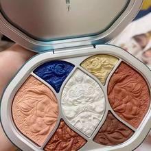 Florasis Beauty Makeup Palette Miao Nationality Eye Shadow  Pigment Pallete China Cosmetics Flower West Original