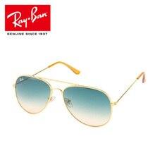 Новинка Авиатор Rayban RB3025 Солнцезащитные очки HD поляризованные мужские солнцезащитные очки gafas oculos de sol masculino Ray Ban RB3025