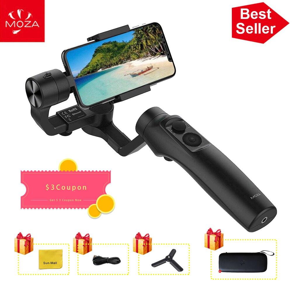 UK Lager MOZA MINI MI 3-Achse Handheld Gimbal Stabilisator für Smart phone iPhone X 8 Plus 8 Samsung s9 mit Maximale Nutzlast 300g