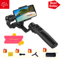 UK Stock MOZA MINI MI 3 Axis Handheld Gimbal Stabilizer for Smart phone iPhone X 8 Plus 8 Samsung S9 with Maximum Payload 300g