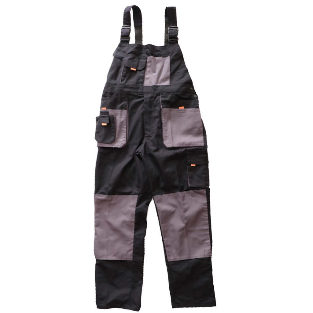 Workwear Coverall Work Bib And Brace Overall Pants Trousers Garage Dungarees Multi Pocket Working Mechanic Overalls