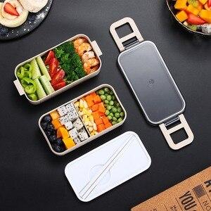 Image 3 - Satılık yemek kabı, öğrenci ofisi çalışanı için taşınabilir yemek kabı yemek kabı çocuklar için taşınabilir çocuk piknik okul Bento kutusu