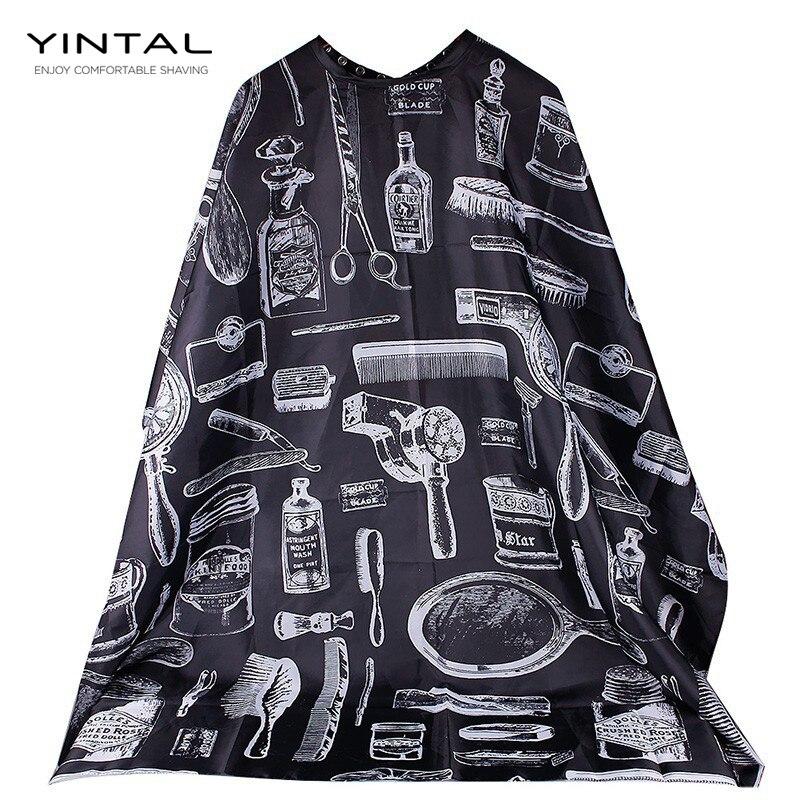 140*115 см водостойкая тканевая накидка для салона, парикмахерской, парикмахерской, фартук для стрижки волос