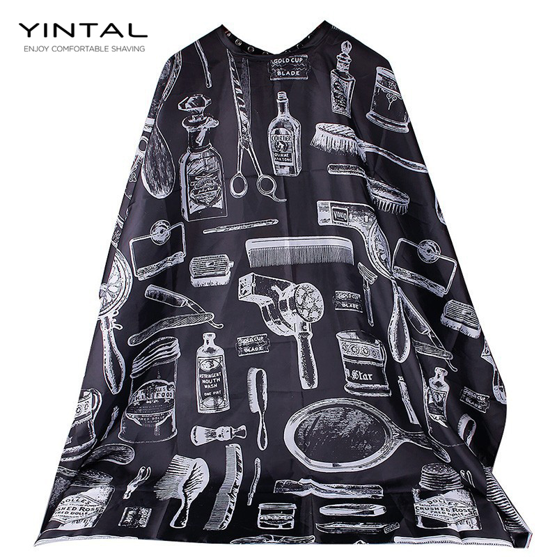 148*120cm Cutting Hair Waterproof Cloth Salon Barber Cape Hairdressing Hairdresser Apron Haircut Capes