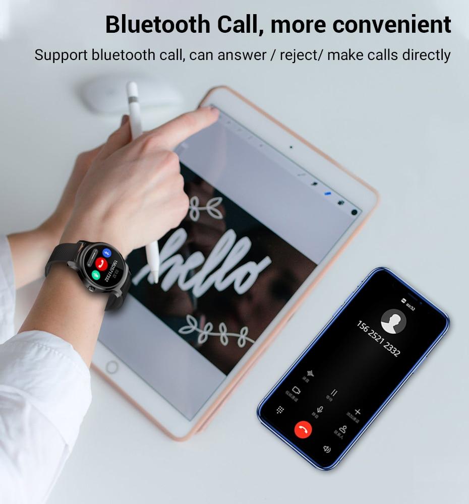 Makibes R2 Smart watch Men GPS Bluetooth Heart Rate Monitor clock Call Message Reminder Music Playe Fitness tracker smartwatch_11