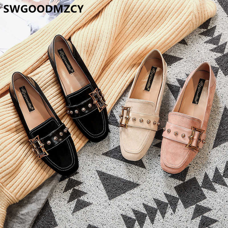 "Giày Loafer Nữ Giày Nữ Giày Nữ Size Lớn Giày Người Phụ Nữ Mocassin Femme Zapatos De Mujer ""Sapato Feminino Туфли"