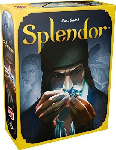 Splendor Board Game English Version Rubber Playmat Parent-child Interaction Adult Financing Family Cards Game