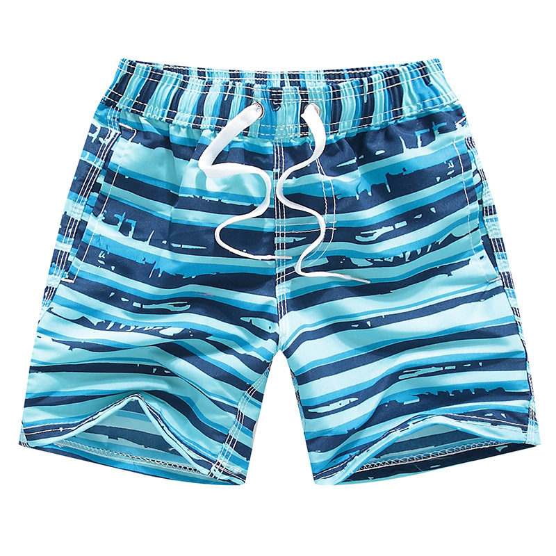 Kids Boys Swimming Shorts Summer Sharks Fast Dry Swimwear For Teenage Boy Carton Print Beach Shorts Children 4 6 8 10 12 Years