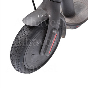 Image 3 - M365 Pro Roller Solide Reifen für Xiaomi Mijia M365 Skateboard 8,5 Nicht Pneumatische Dämpfung Reifen Stoßdämpfer Roller Kamera teil
